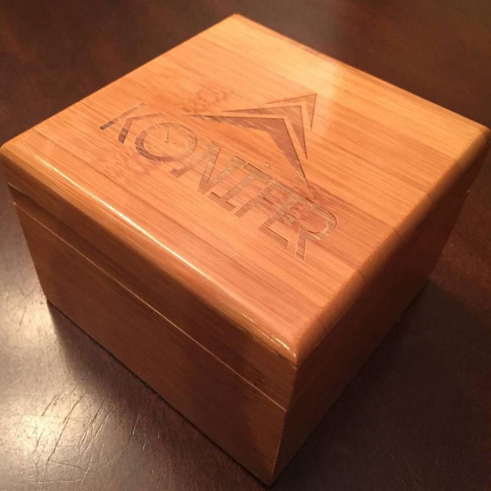 Konifer bamboo gift box