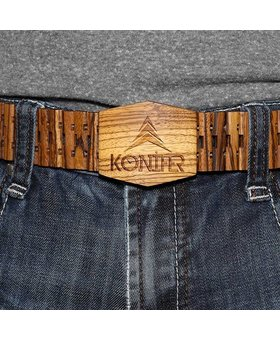 Konifer ZEBRAWOOD belt by KONIFER