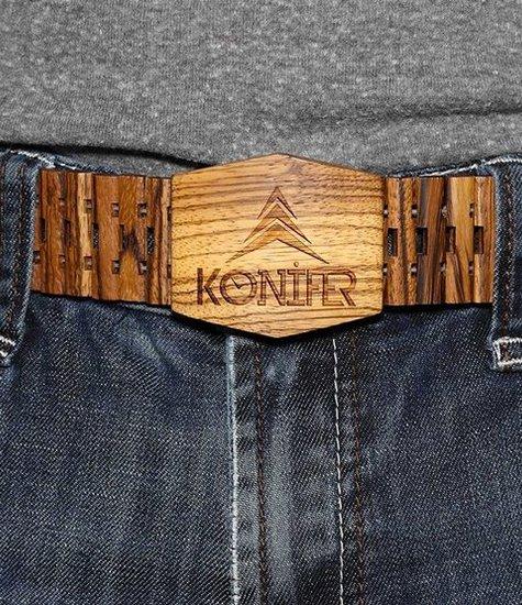 Konifer ZEBRAWOOD belt by KONIFER