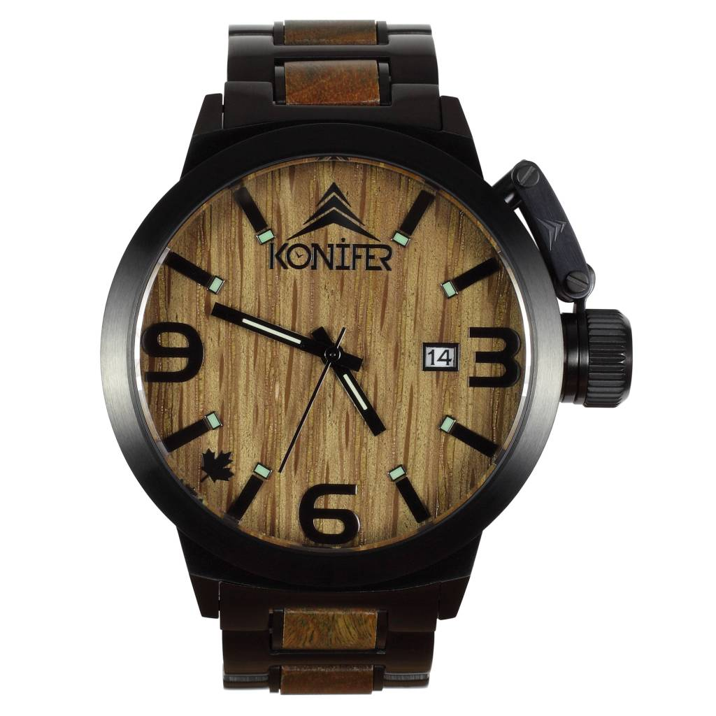 Karbon  Black Matte Stainless + Green Sandalwood