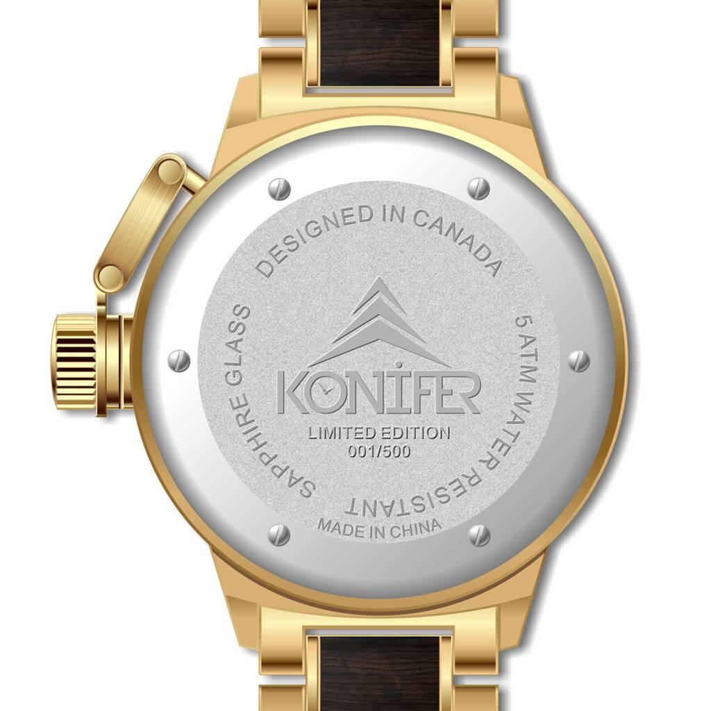 Konifer Karbon 24K Gold + Black Sandalwood