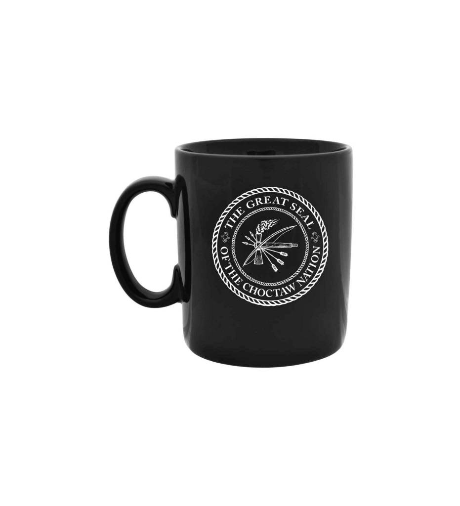 Black CNO Seal Mug