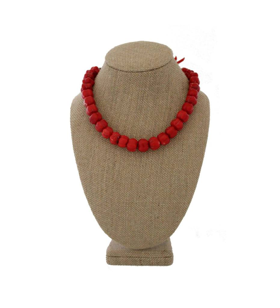 *RS Red Coral Necklace