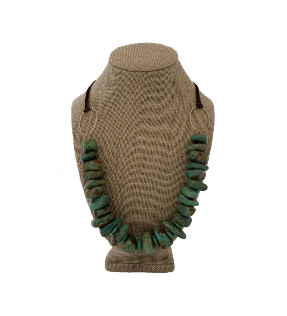 *RS Turquoise & Silver Necklace