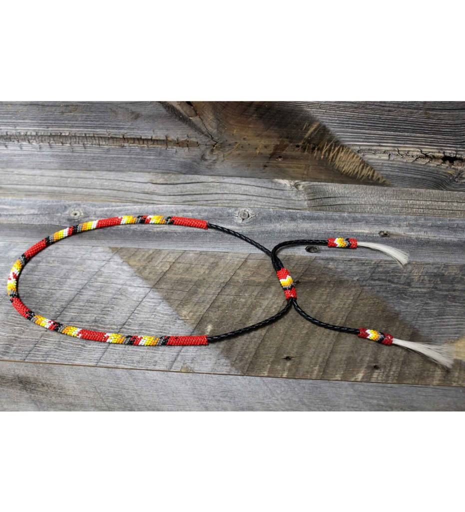 SL,Varied Color Beaded Hat Band