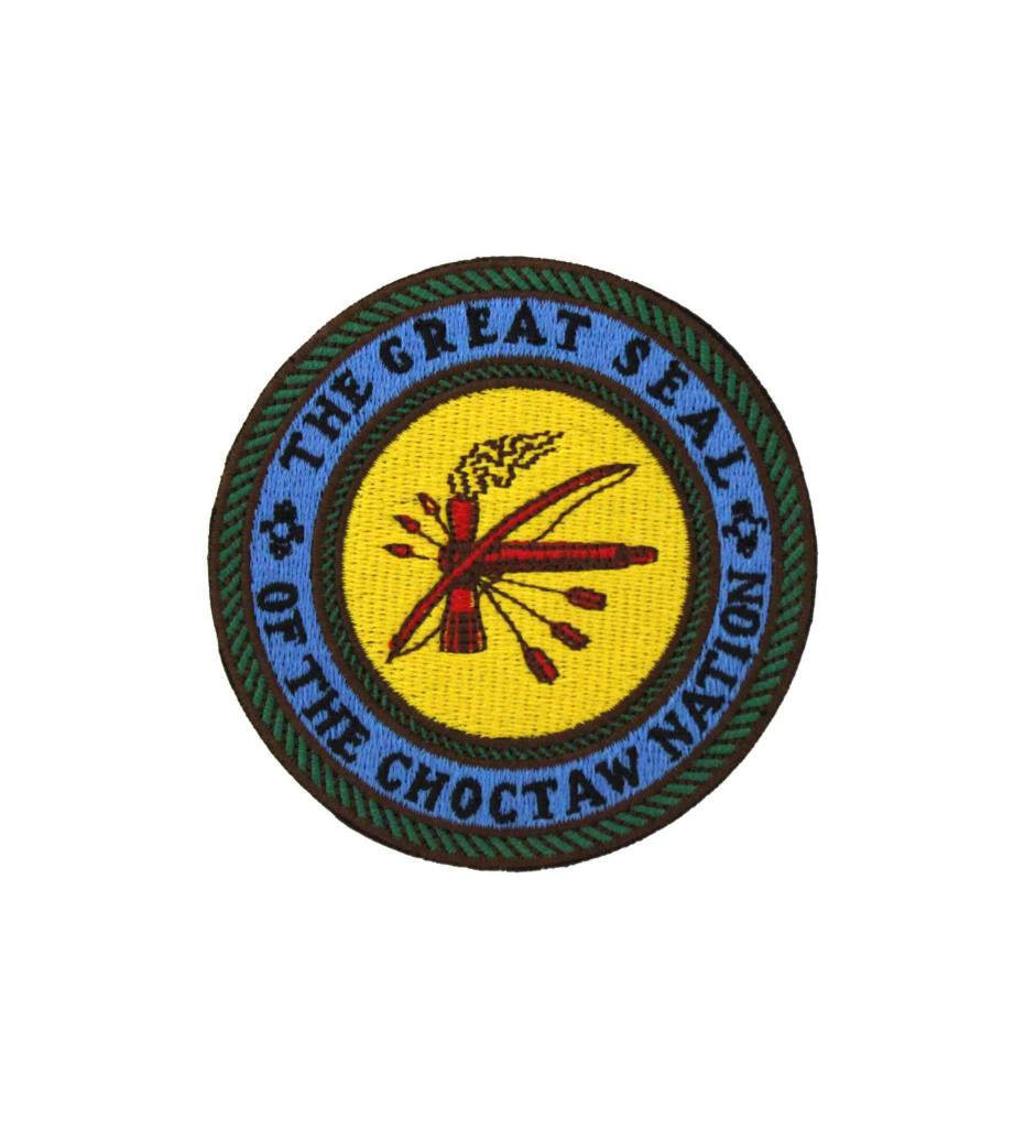 3 Inch CNO Seal Embroidered PATCH