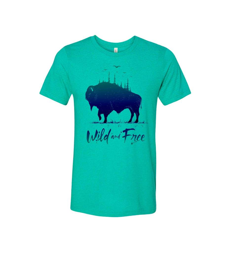 Wild & Free Buffalo Shirt