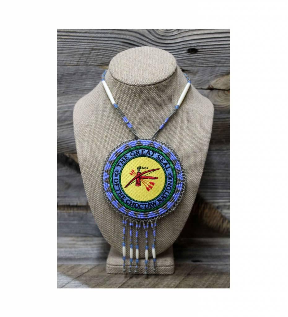 "SL ""CNO SEAL"" Medallion Necklace"