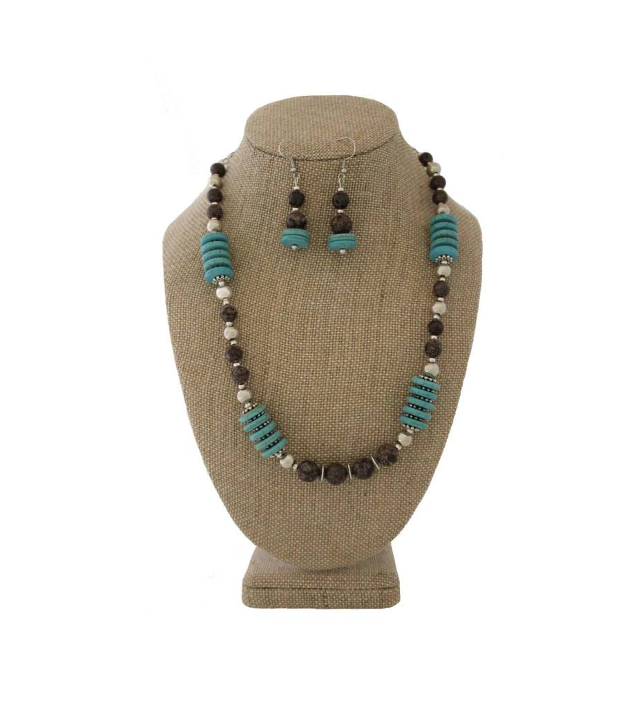 *JM 1902009 Blue Turquoise Set