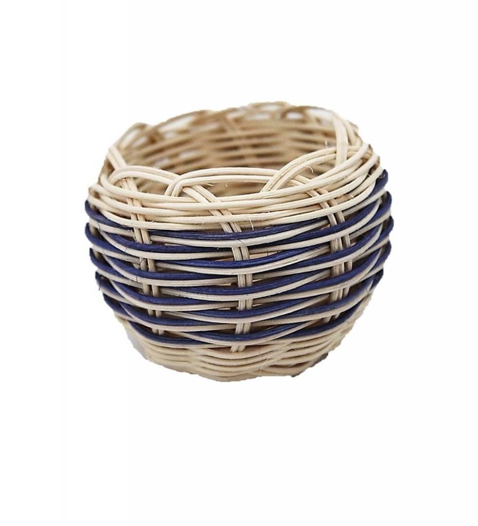 *LA Mini Handwoven Double Walled Basket
