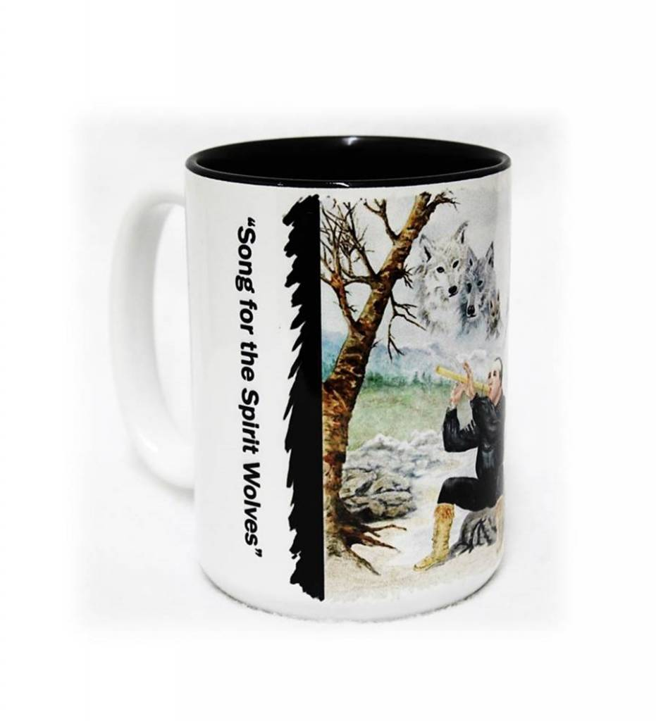 """CA """"Song for the Spirit Wolves"""" Coffee Mug"""