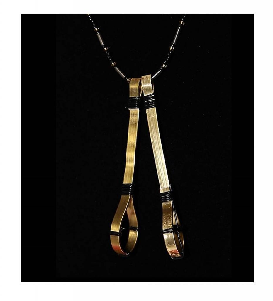 LB Assorted Aluminum Stickball Necklace