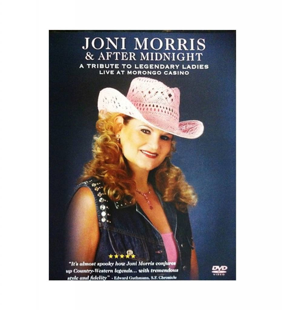 *JOM Joni Morris & After Midnight LIVE DVD