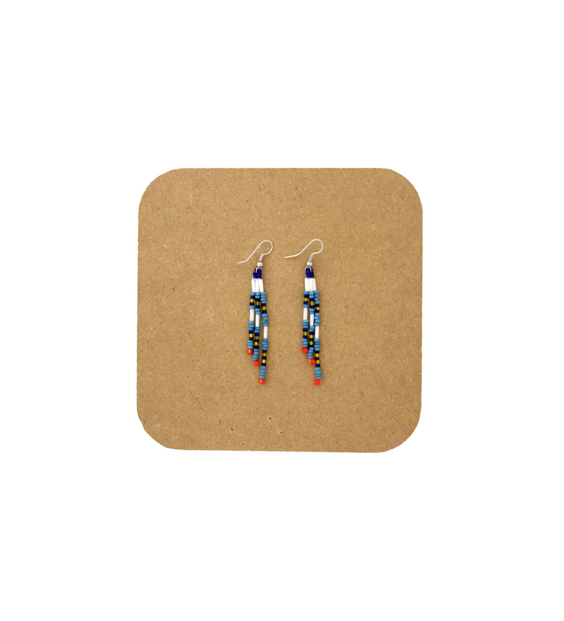 *AB 3009 BEADED EARRINGS