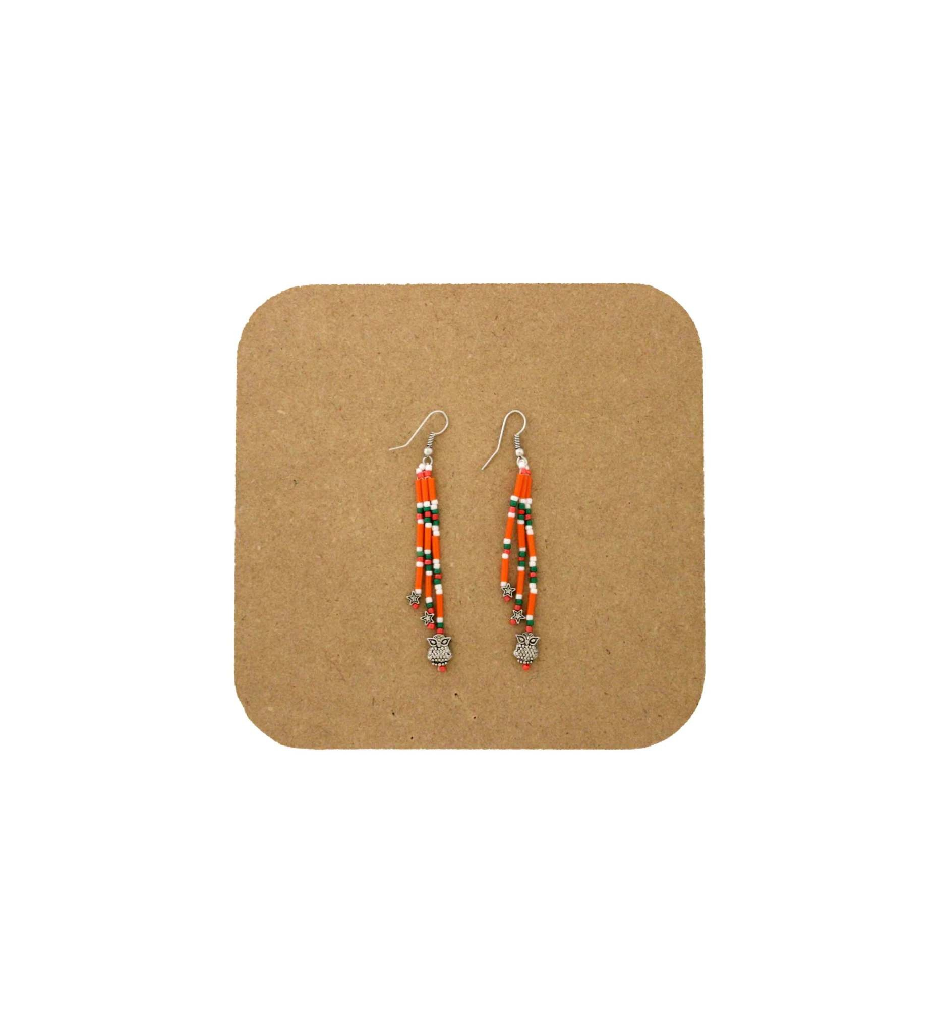 *AB 3002 BEADED EARRINGS