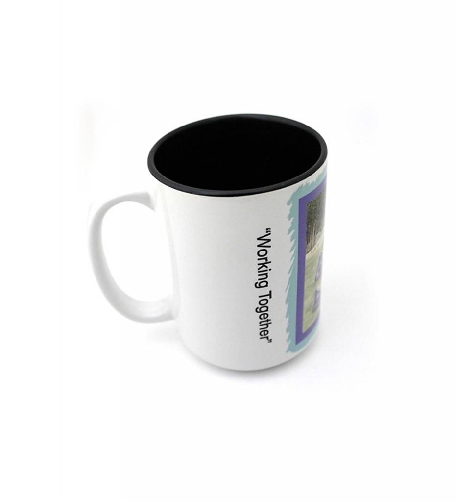 "*CA ""Working Together"" Coffee Mug"