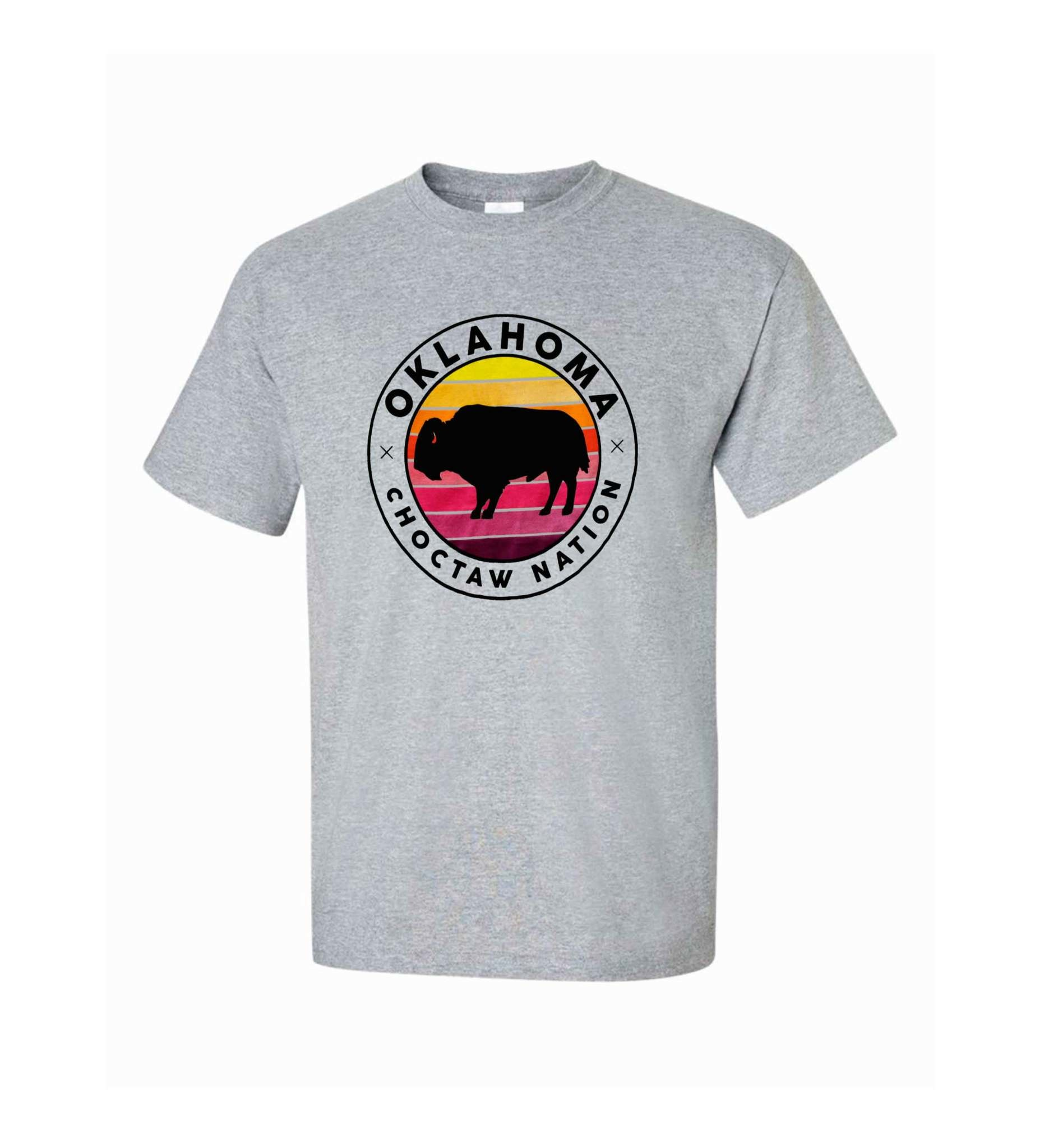 Gray CNO Buffalo Tee
