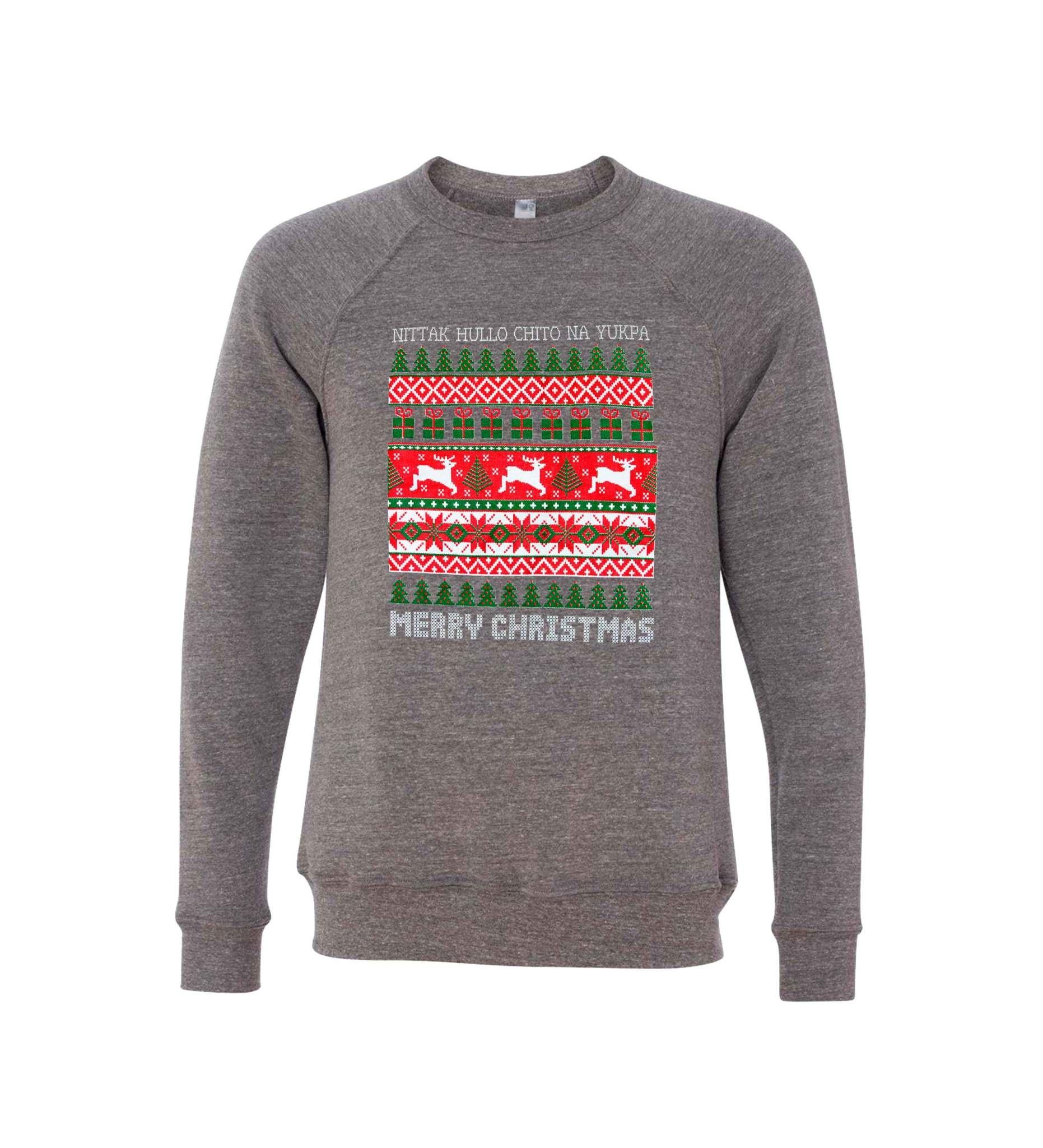 Choctaw Ugly Christmas Sweatshirt