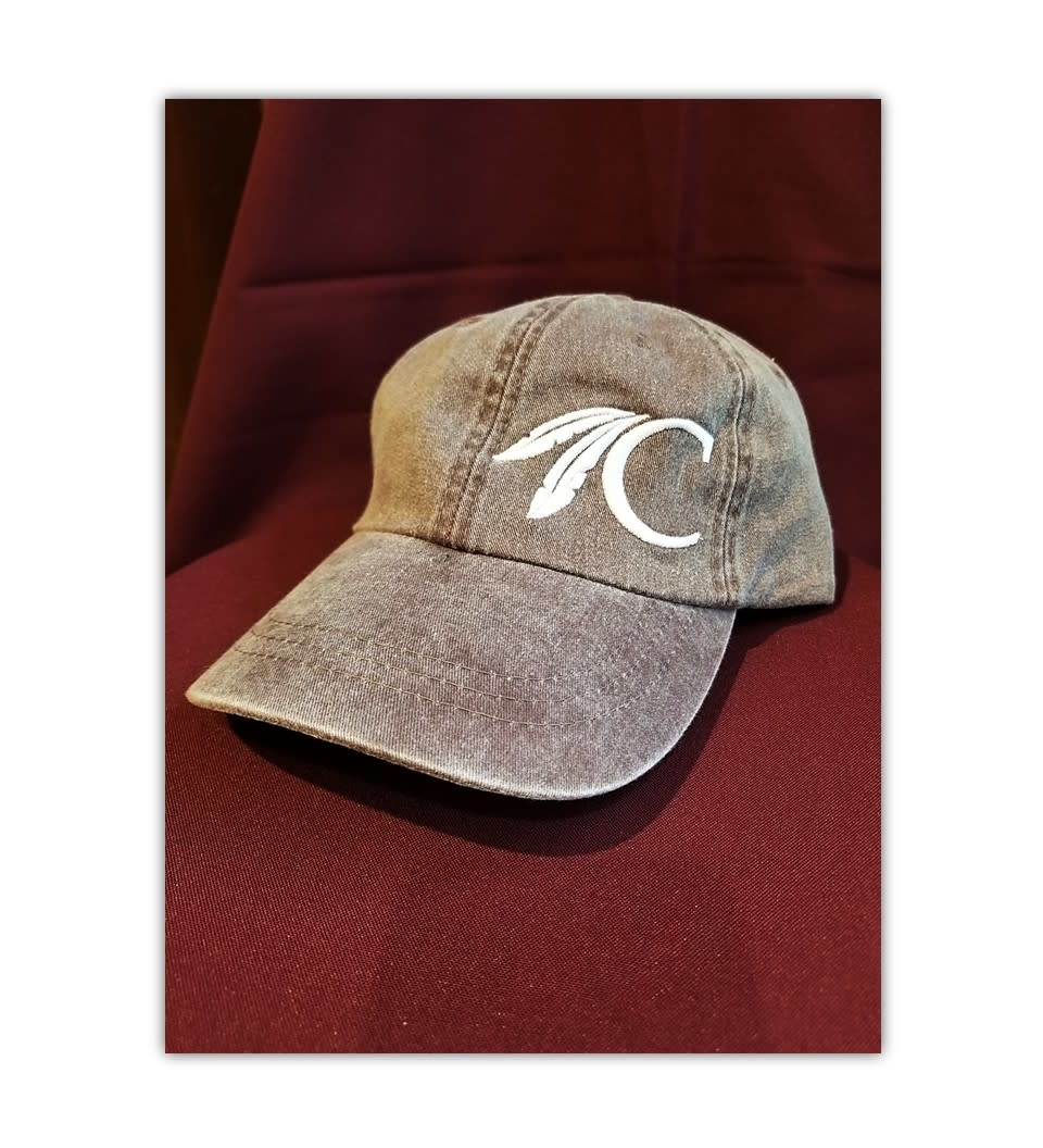 Full Back Logo Cap w/C Brown