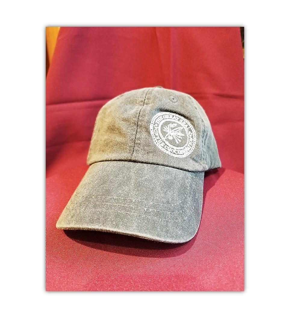 Full Back Logo Cap w/Seal Black