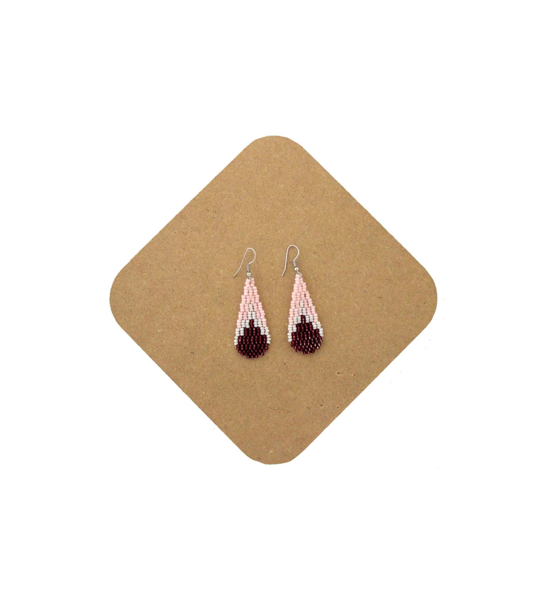 *AB Beaded Earring -G