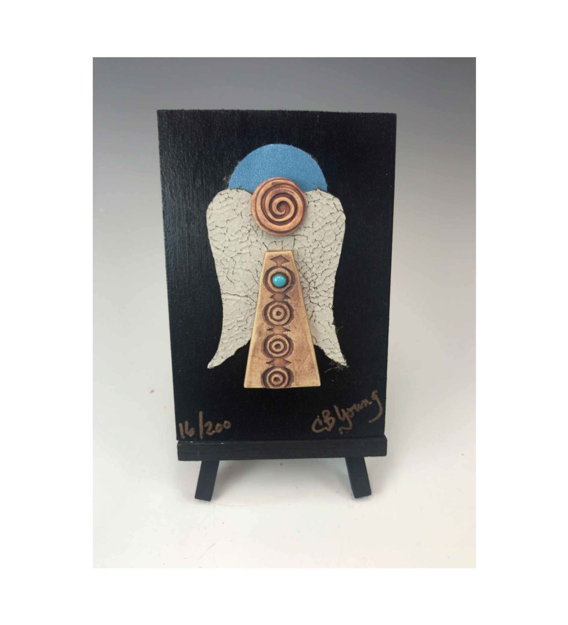 *CBY Earth Angel Mounted #16 of 200