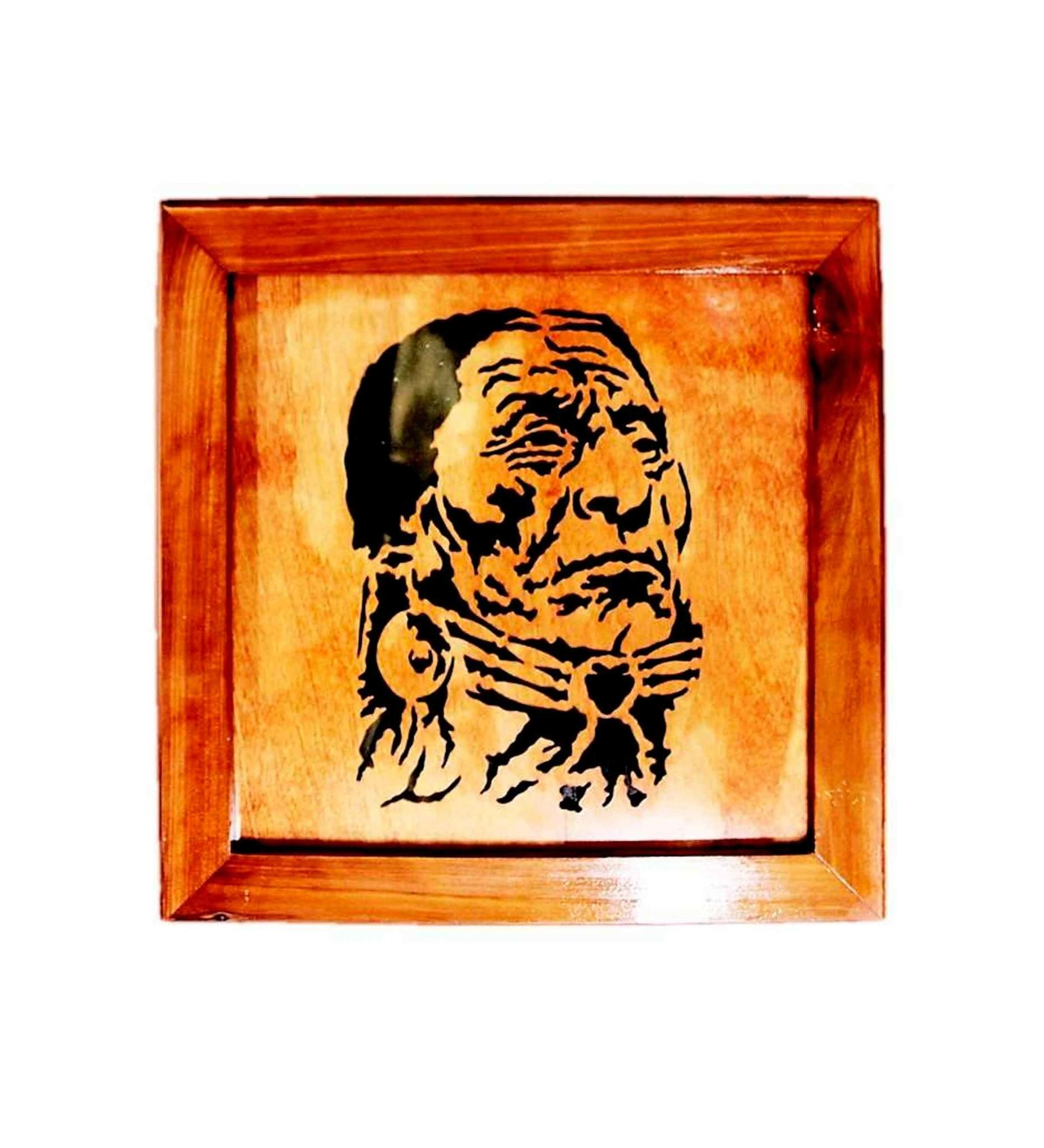 BB Warrior with Wooden Frame Woodwork