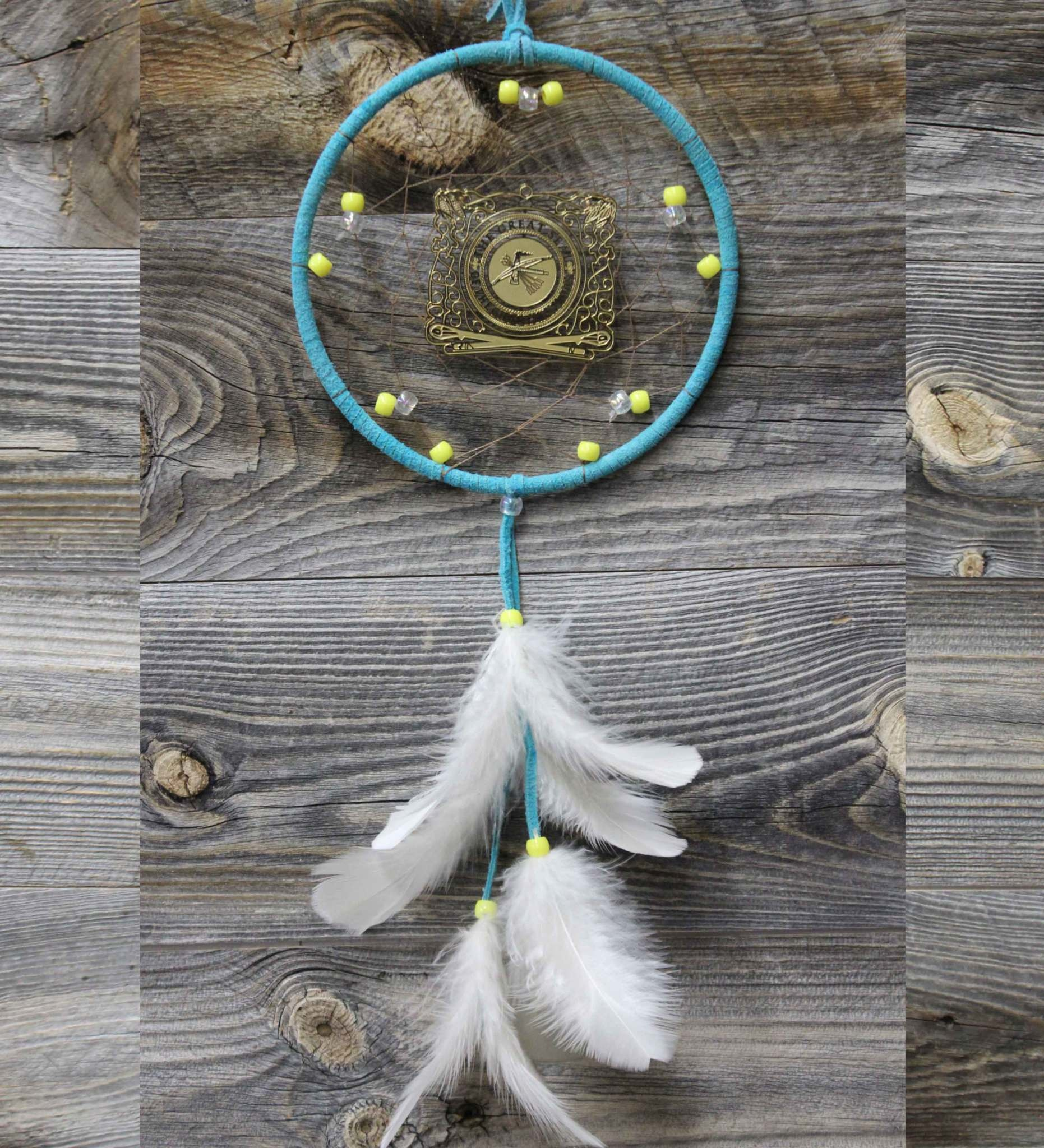 "BD 6"" CNO Seal Ornament Dreamcatcher"