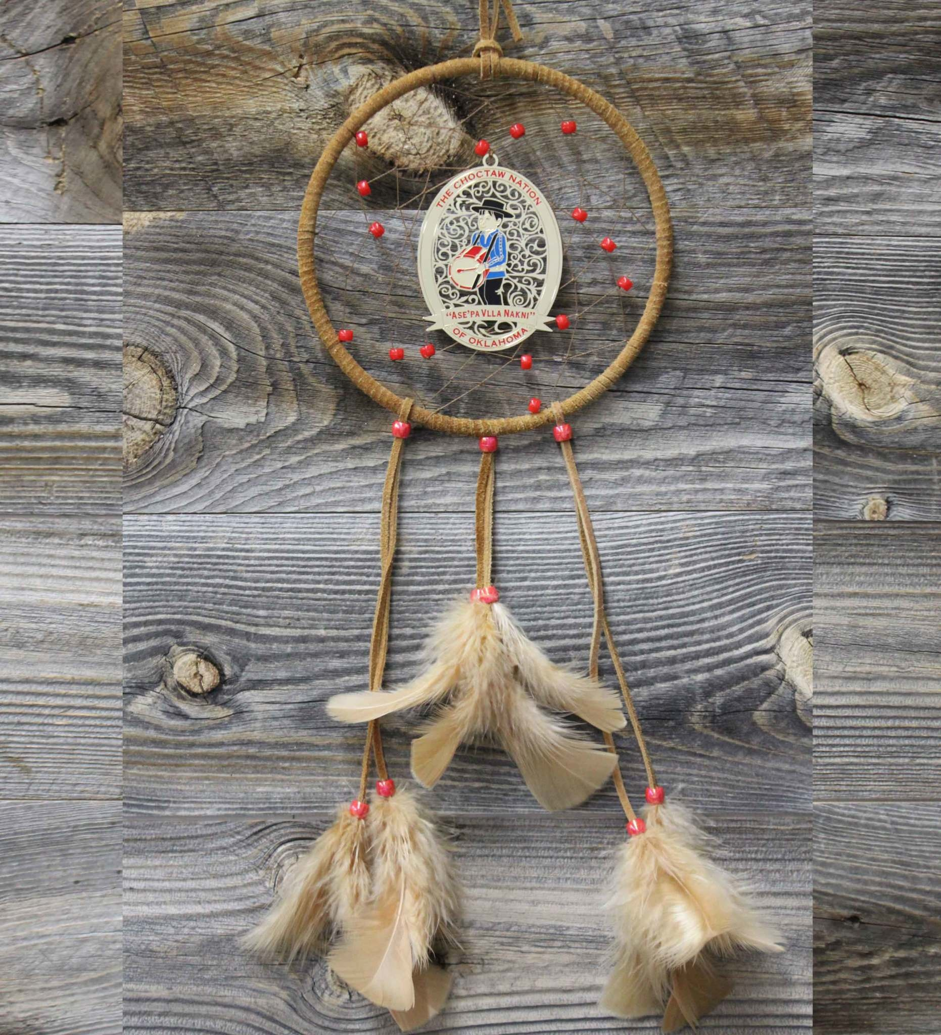"*BD 6""  Drummer Boy Ornament Dreamcatcher"