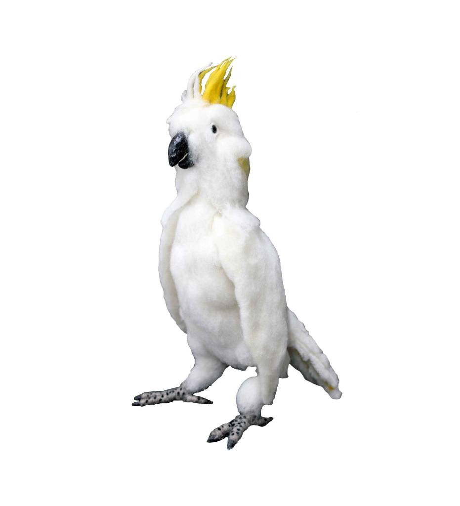 "*JC Hand Felted ""Cockatoo"" Bird"