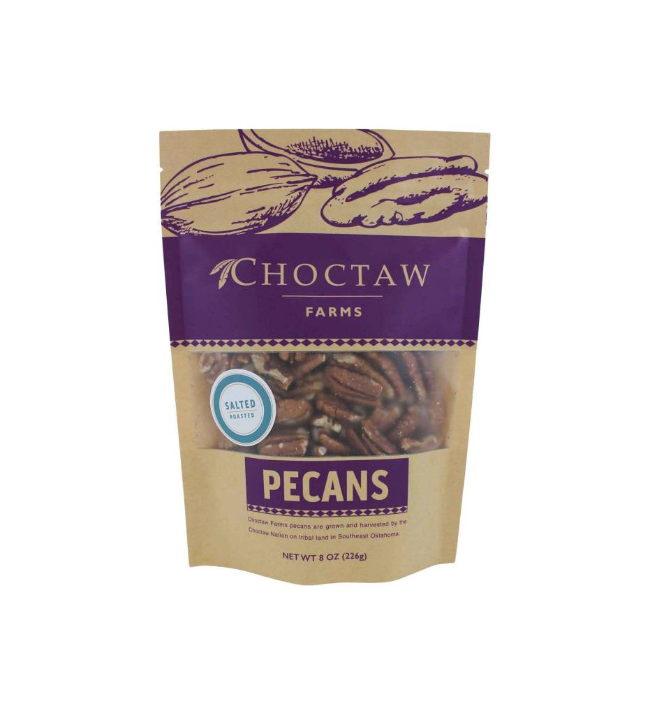 Choctaw Farms Pecans SALTED ROASTED