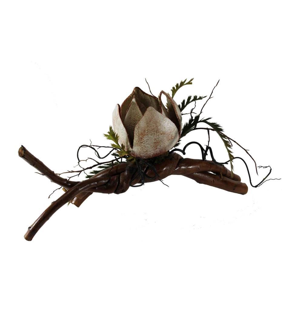 *KB Magnolia Gourd Sculpture