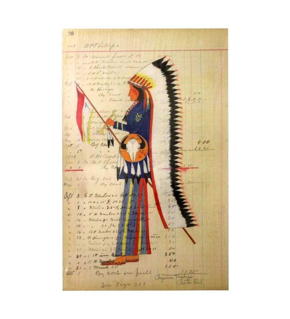 """PH Ledger Art Print, """"Cheyenne Trophies"""""""