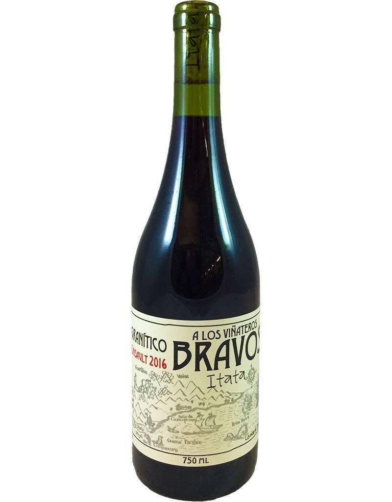 Chile A Los Vinateros Bravos Granitico Cinsault