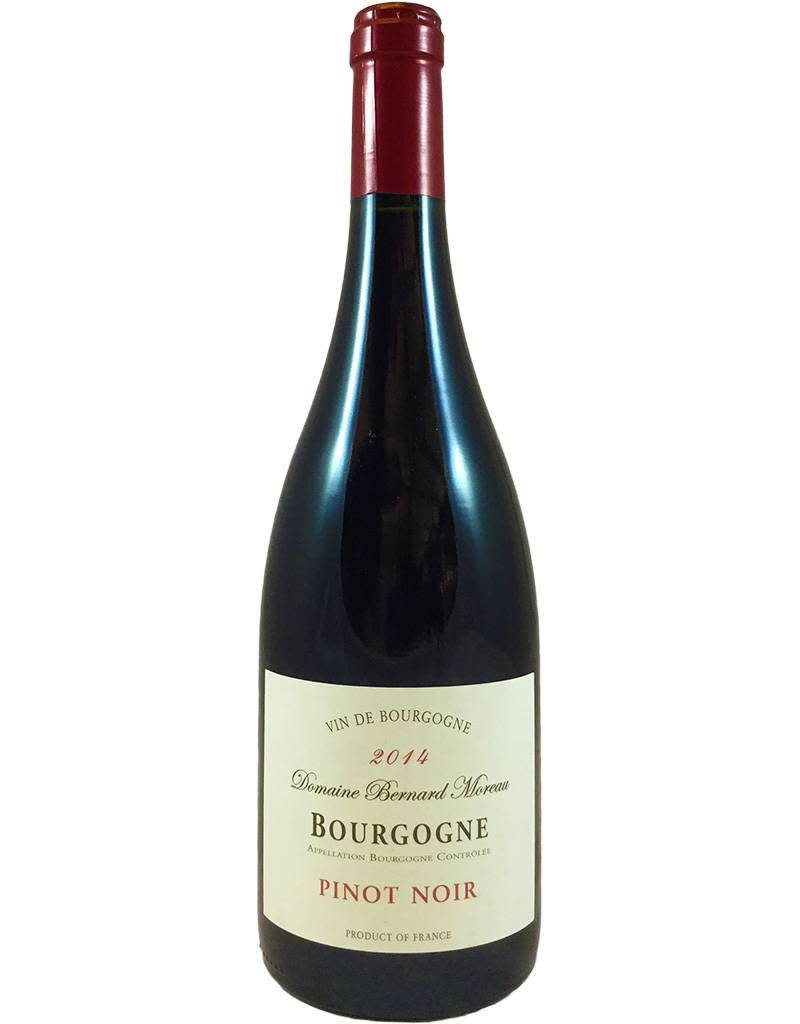 France Dom Bernard Moreau Bourgogne Pinot Noir