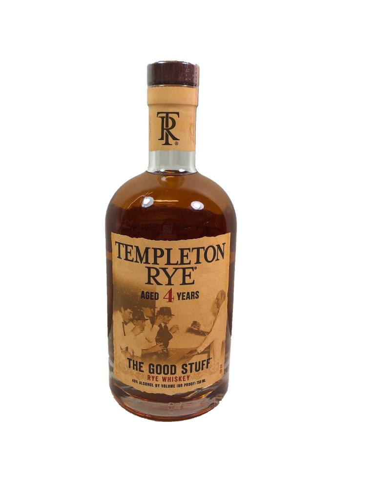 USA Templeton Whiskey Rye Good Stuff