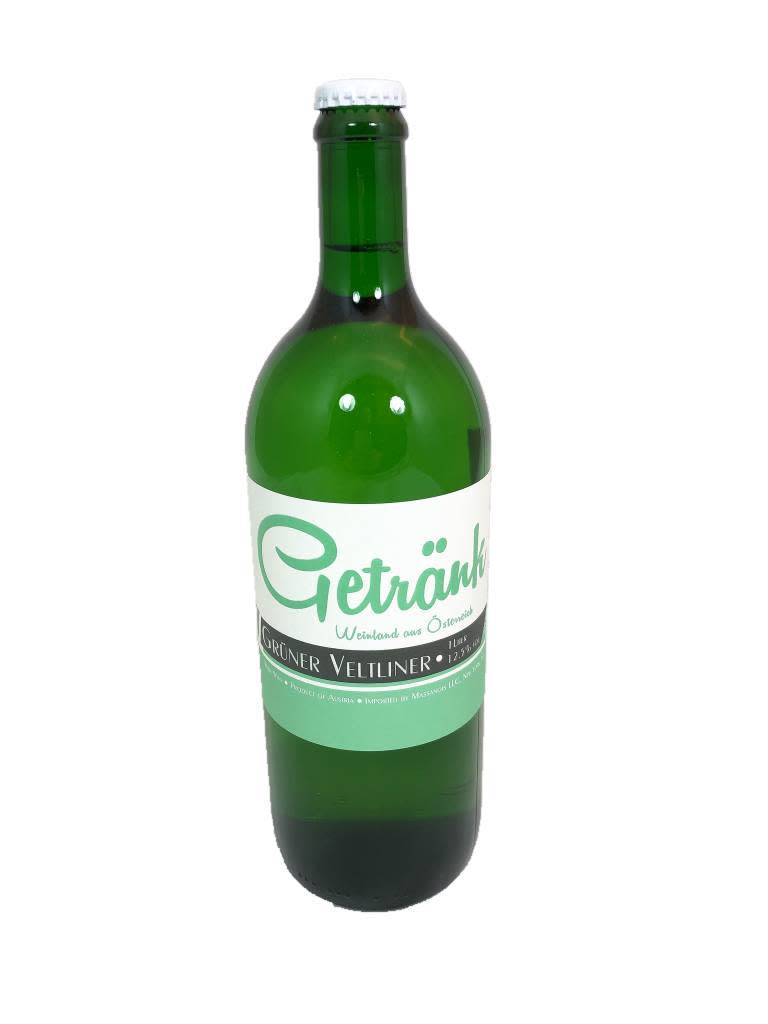 Austria Getrank Gruner Veltliner Liter