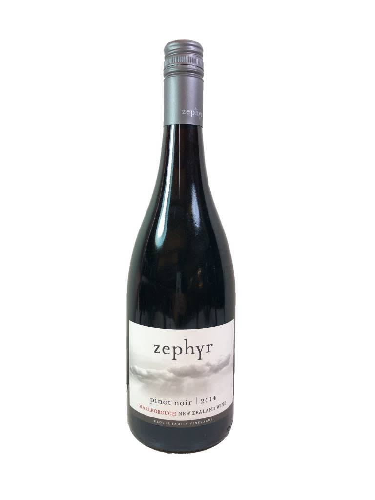New Zealand Glover Family Zephyr Pinot Noir