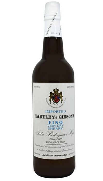 Spain Hartley & Gibson Fino Dry Sherry