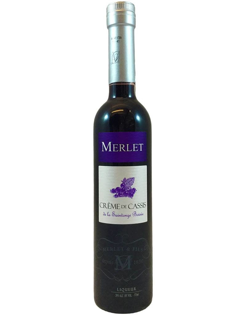 France Merlet Creme de Cassis 750ml