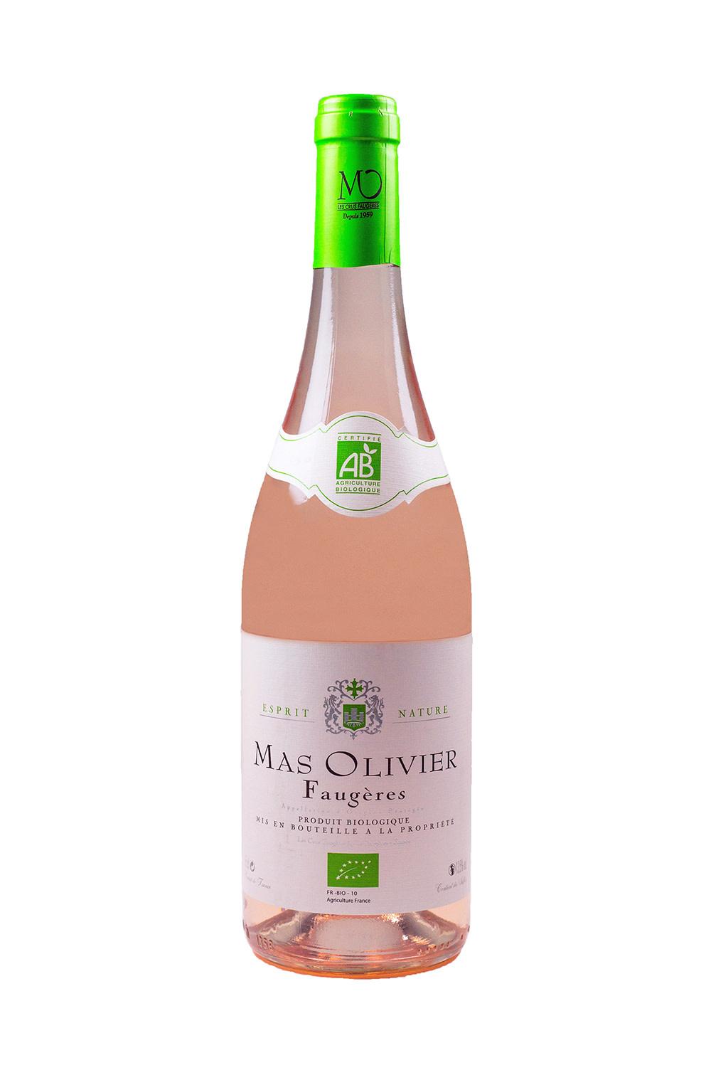 France Mas Olivier Faugeres Rose