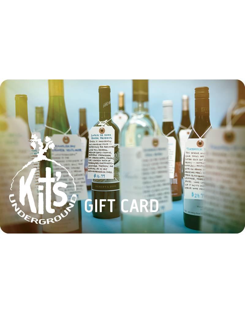 Kit's Gift Card: $50