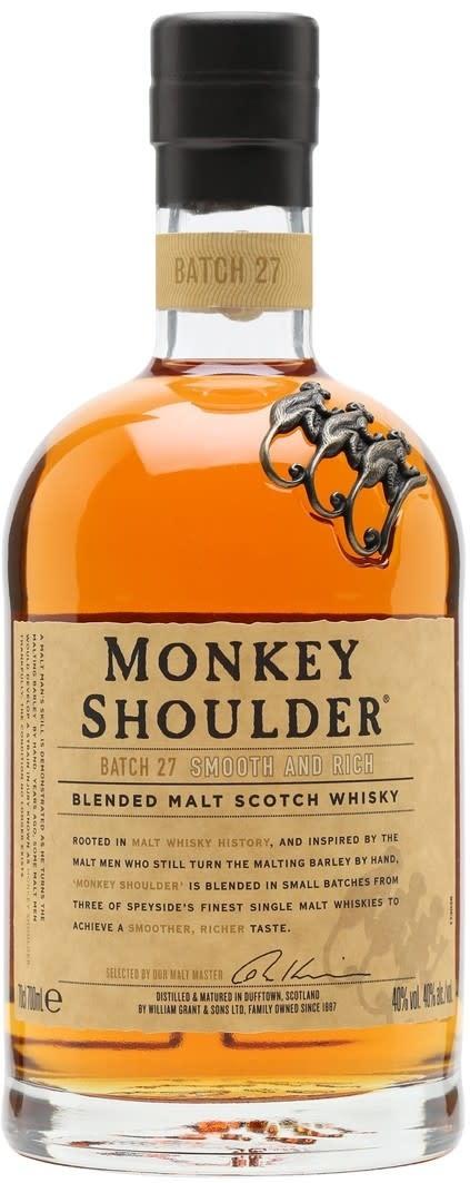 Scotland Monkey Shoulder Batch 27 Blended Malt Scotch Whisky