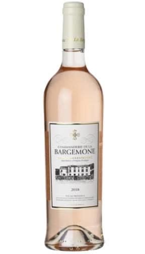 France Commanderie de la Bargemone Coteaux d'Aix en Provence Rose 2018