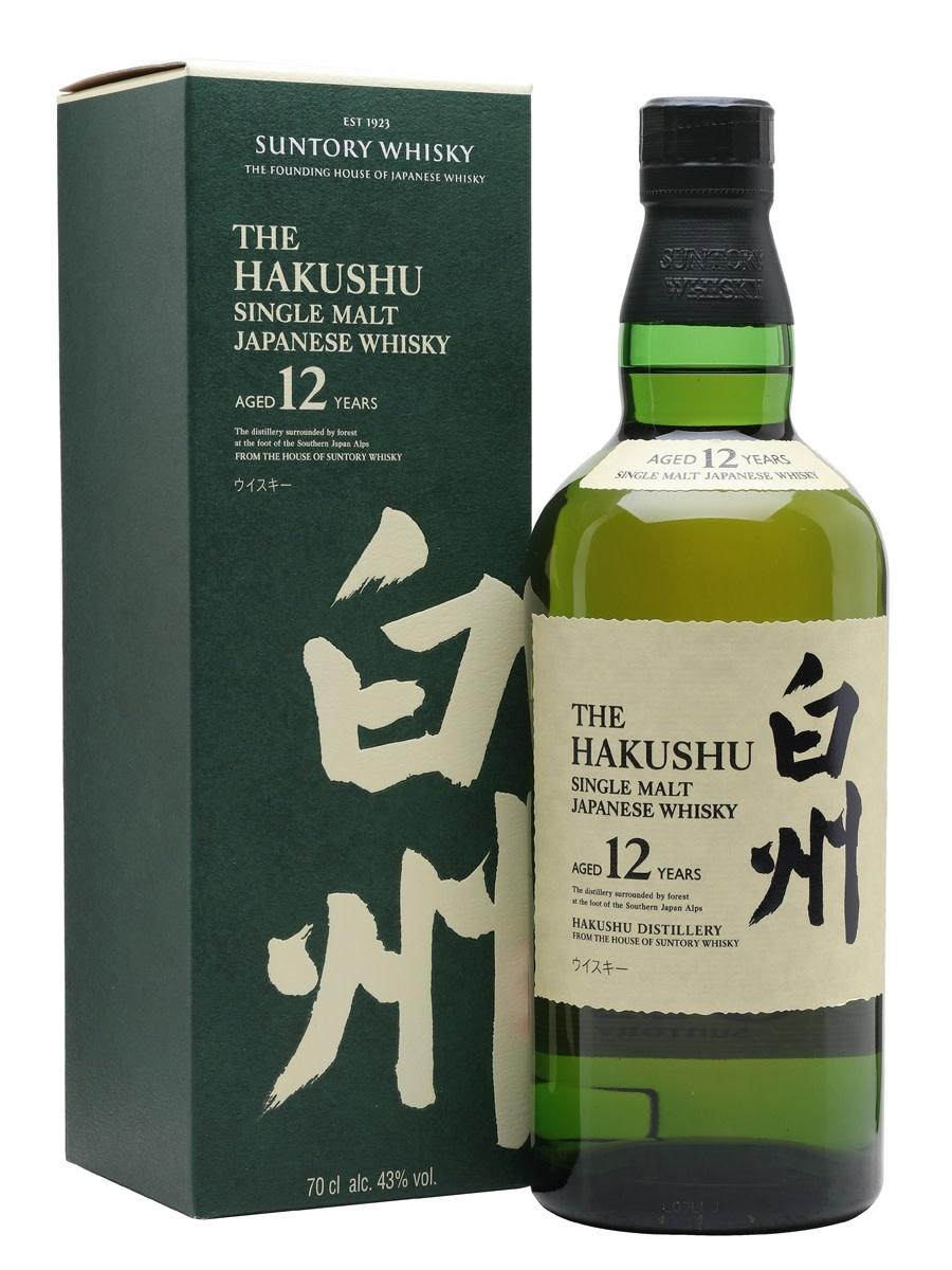 Japan Suntory Hakushu Single Malt 12yr
