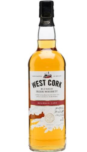 Ireland West Cork Bourbon Cask Irish Whiskey