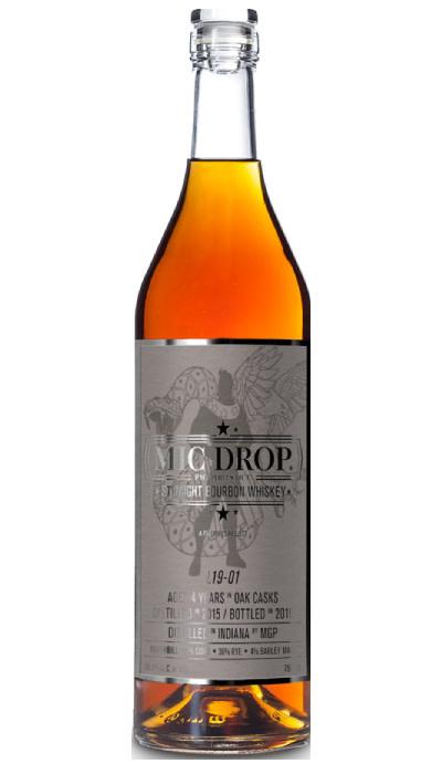 USA Mic Drop 4yr Straight Bourbon Whiskey *one per person*
