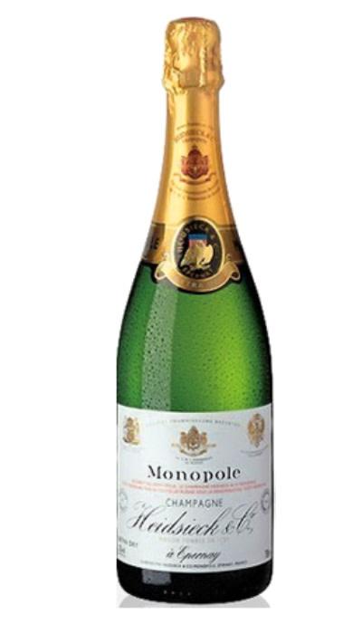 France Heidsidck Monopole Champagne extra dry