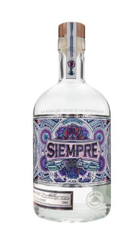 Mexico Siempre Silver (Plata) Tequila 750ml