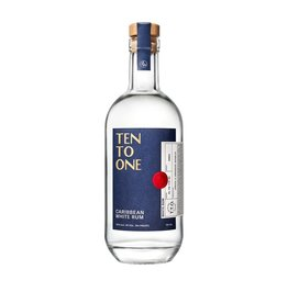 Dominican Rep. Ten To One Rum 750ml